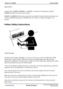 John Deere 5101E service manual