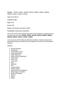 John Deere 5075GF manual
