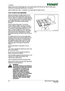 Fendt (9300 Draper Header DynaFlex) manual