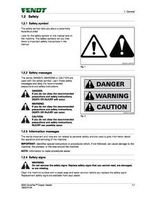 Fendt (9300 Draper Header DynaFlex) manual pdf