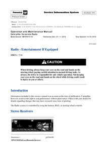 Caterpillar 314E manual pdf