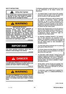 Bobcat T870 Compact Track Loader manual
