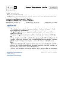 Caterpillar 416C manual