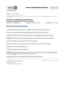 Caterpillar 416C manual pdf