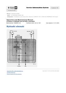 Caterpillar 416C service manual