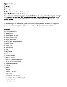 John Deere 6020 manual