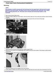 John Deere 4115 service manual