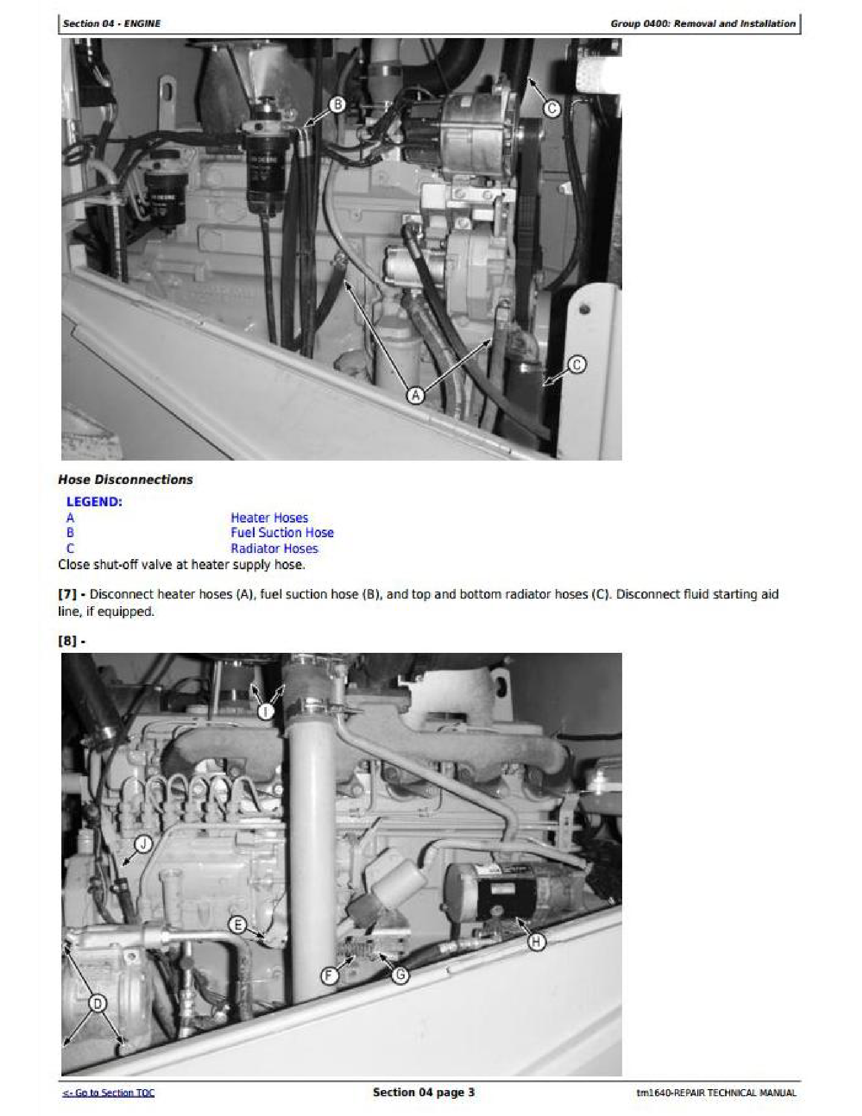 John Deere TC62H manual pdf