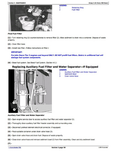 John Deere 120D manual pdf