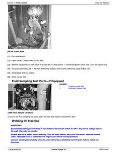 John Deere 120D manual