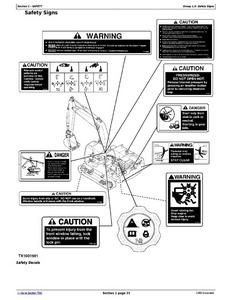 John Deere 120D service manual