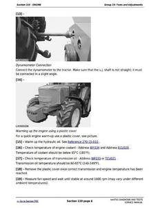 John Deere 6220 manual