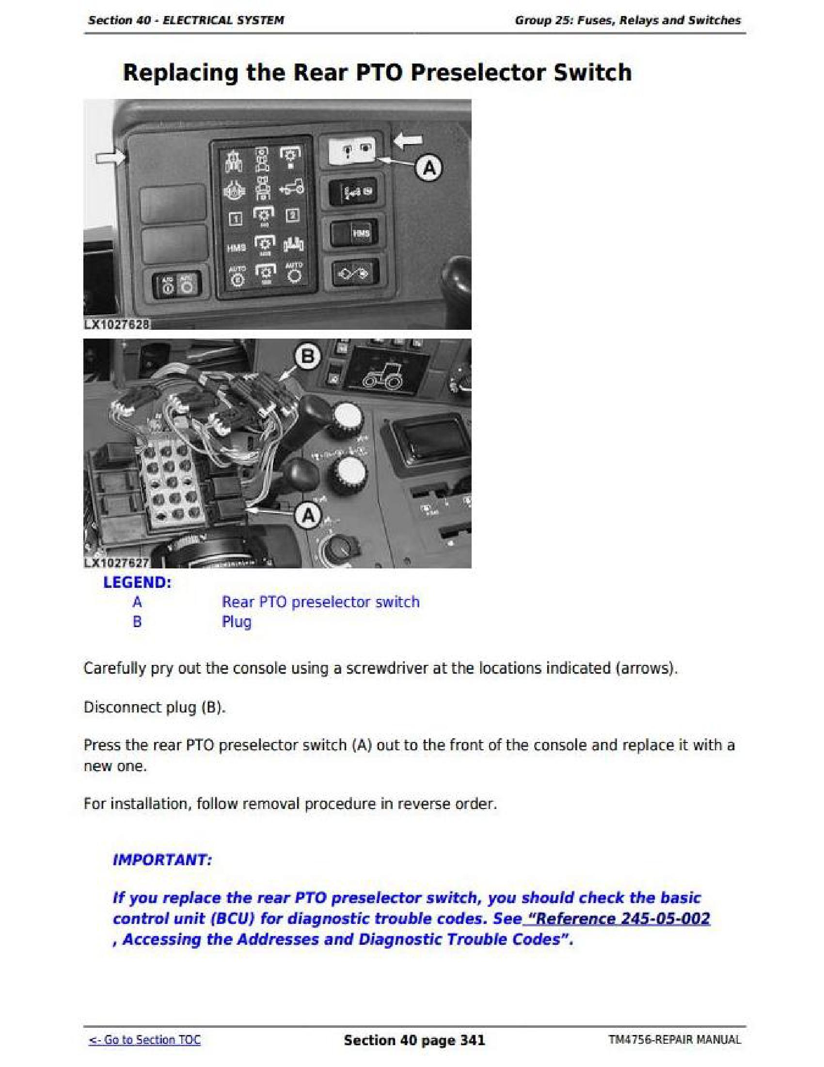 John Deere 6920S manual pdf