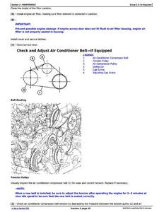John Deere 1FF050GXH280001- manual