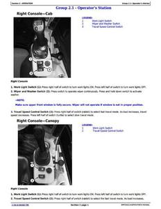 John Deere 1FF050GXH280001- service manual