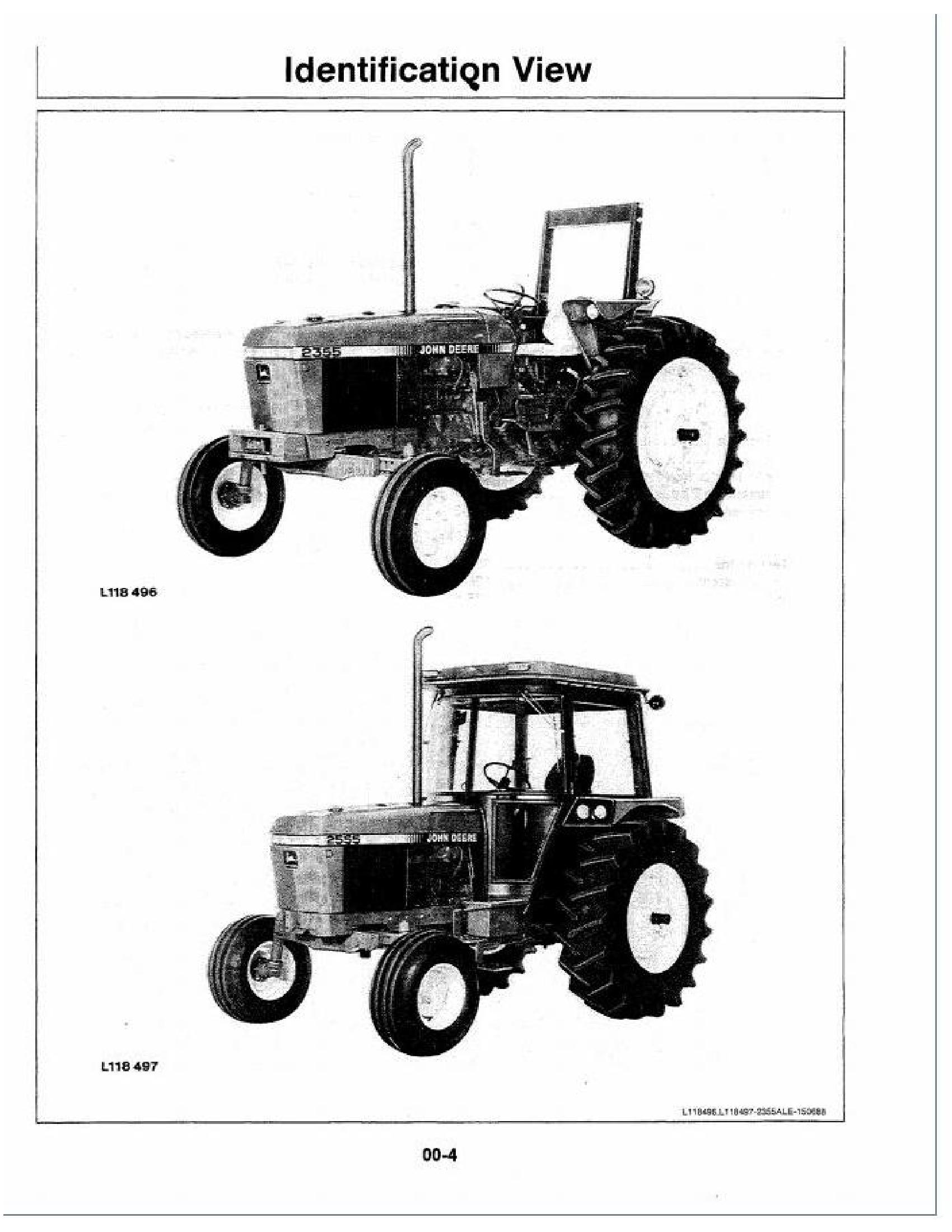 John Deere 2555 manual pdf