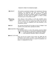 Kobelco SK100 Hydraulic Excavator Operator's manual
