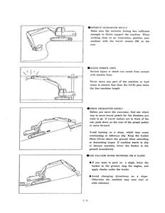Kobelco SK120LC Hydraulic Excavator Operator's manual pdf