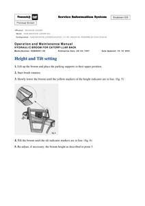 Caterpillar 426B manual pdf
