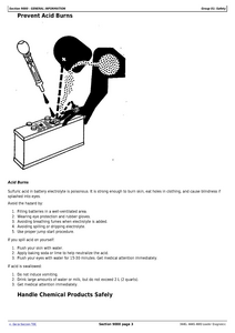 John Deere 444G service manual