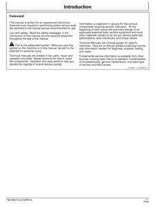 John Deere 1023E manual