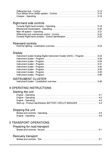 New Holland T3.70F Tractor Operator manual