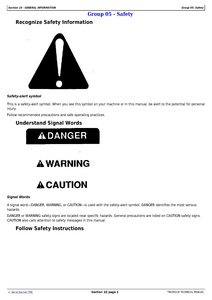 John Deere Z960A manual