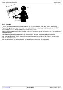 John Deere Z970A manual