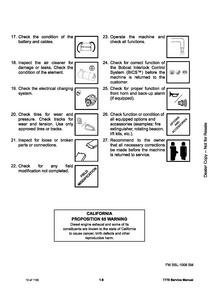Bobcat T770 Compact Track Loader manual pdf