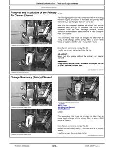 John Deere 75G manual pdf