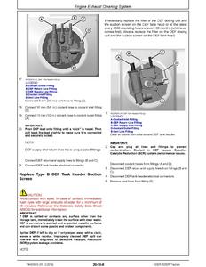 John Deere 75G manual