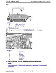 John Deere 7230R manual