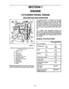 New Holland Ford 675D Tractors manual