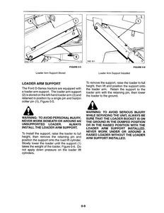 New Holland Ford 675D Tractors service manual