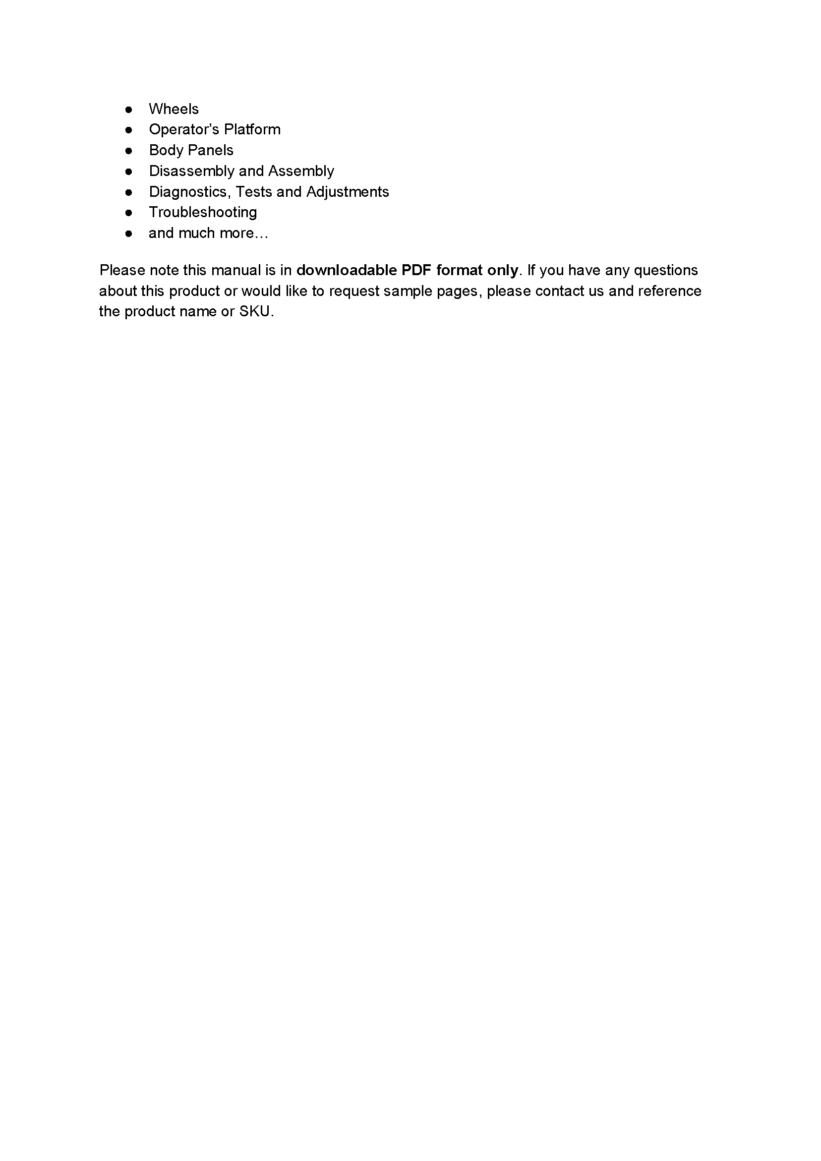 John Deere 2025R manual pdf