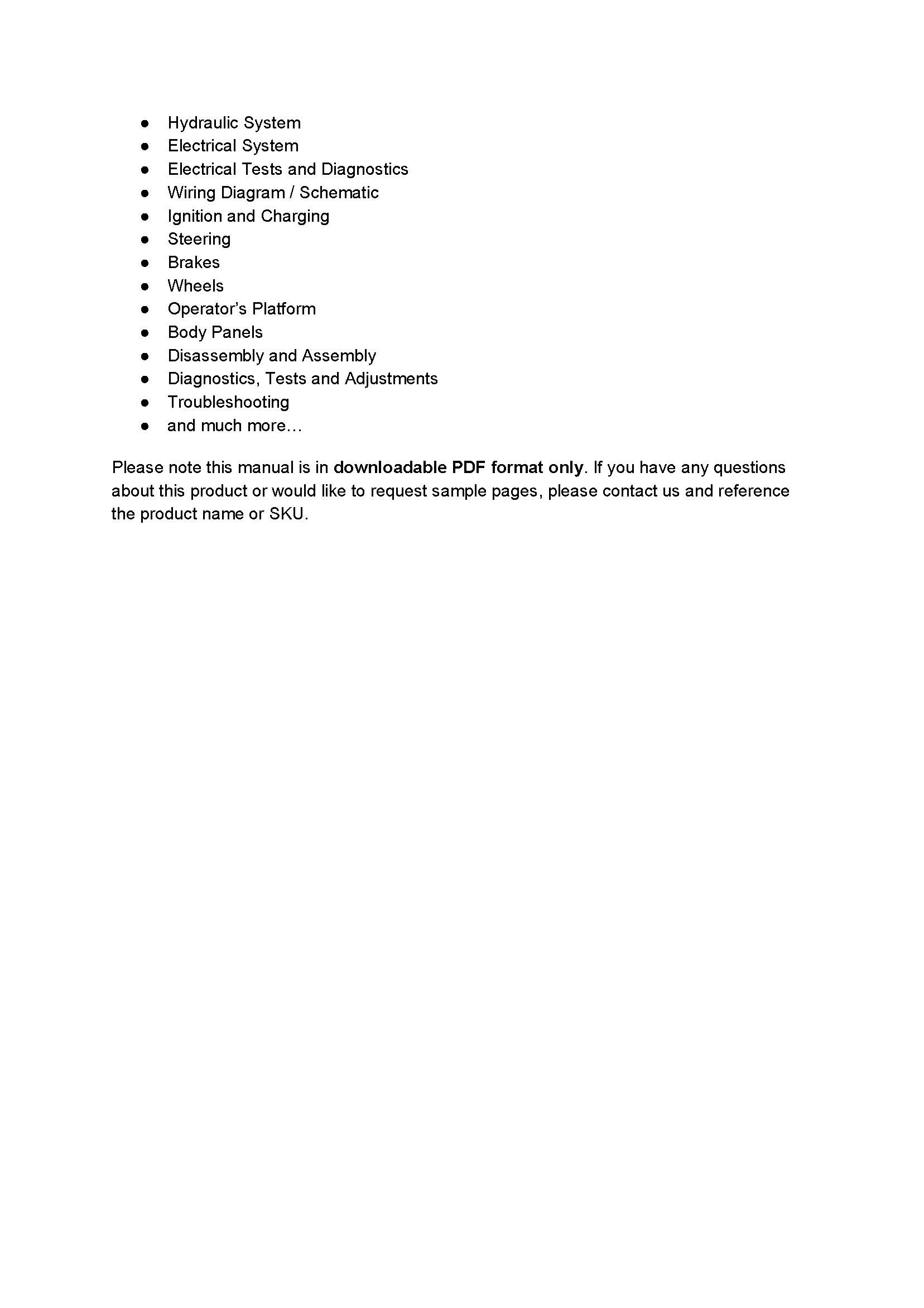 John Deere X354 manual