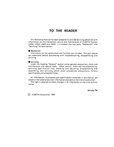Kubota L4200  manual pdf
