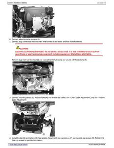 John Deere LA120 manual