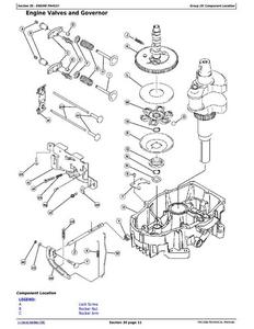 John Deere X304 manual
