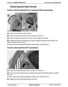 John Deere 7530 service manual