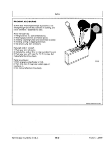 John Deere 3255 Tractors Technical service manual