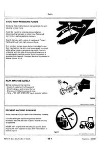 John Deere 3255 Tractors Technical manual pdf