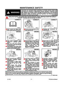 Bobcat T750 Compact Track Loader service manual