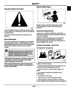 John Deere 135 manual