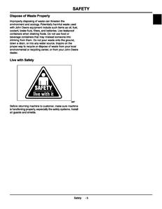 John Deere John Deere 100 Series manual