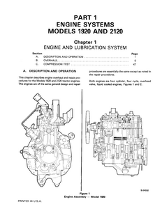 New Holland Ford 2120 Tractor manual