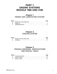New Holland Ford 2120 Tractor service manual