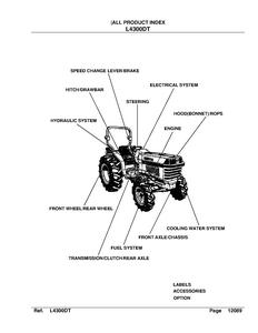 Kubota L4300DT manual