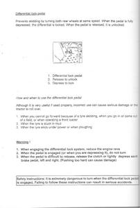 Kubota B1902 manual