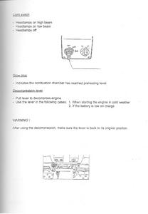 Kubota B1702 manual